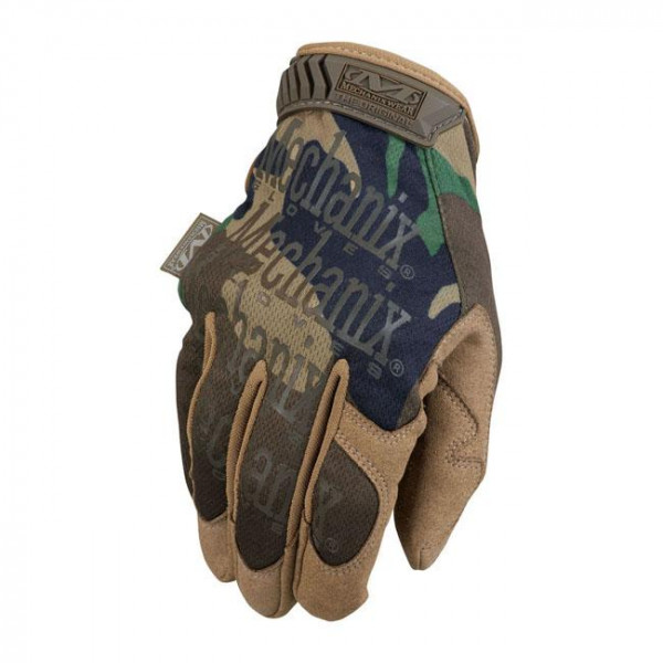 Mechanix Woodland Camo gloves Camouflage