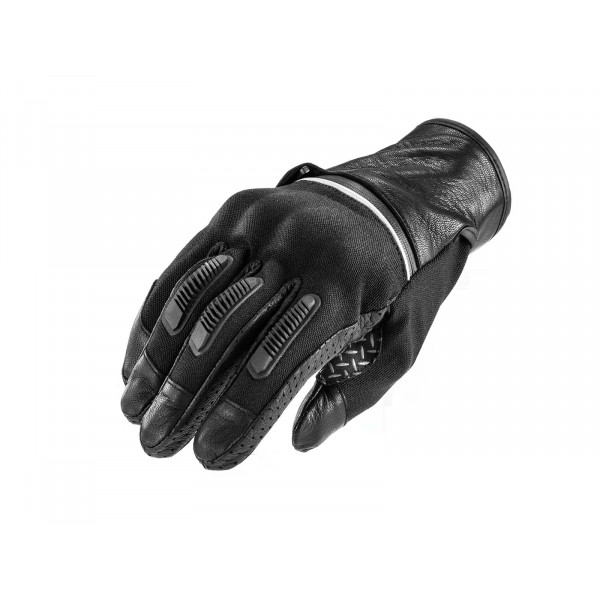 Acerbis Irvine motorcycle leather gloves