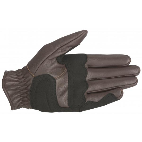 Alpinestars Oscar Rayburn Leather Gloves tobacco brown