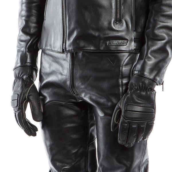 Dainese72 PELLE72 gloves Black