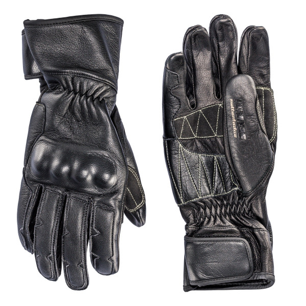 Dainese72 TECHNO72 leather GLOVES Black