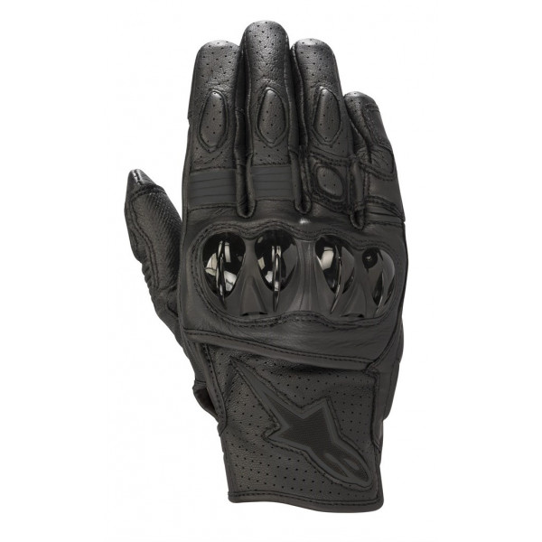 Alpinestars CELER V2 leather summer gloves black black
