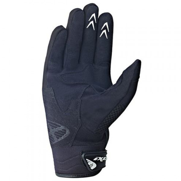 Ixon Rs Combat HP motorcycle Gloves Black White