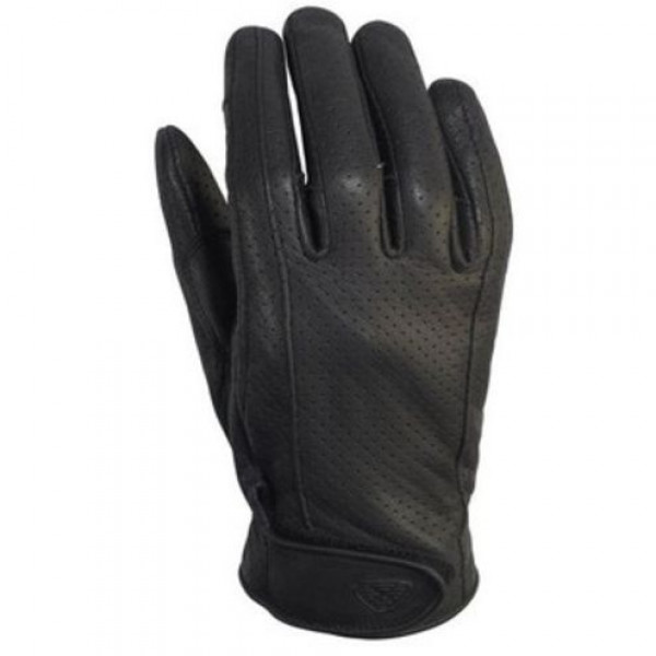 Ixon RS Cruize Air Summer Leather Gloves Black