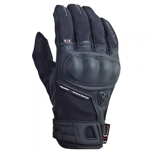 Ixon Rs Grip HP Summer Leather Gloves Black