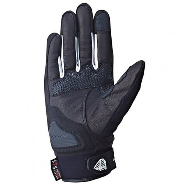 Ixon Rs Grip HP Summer Leather Gloves Black White