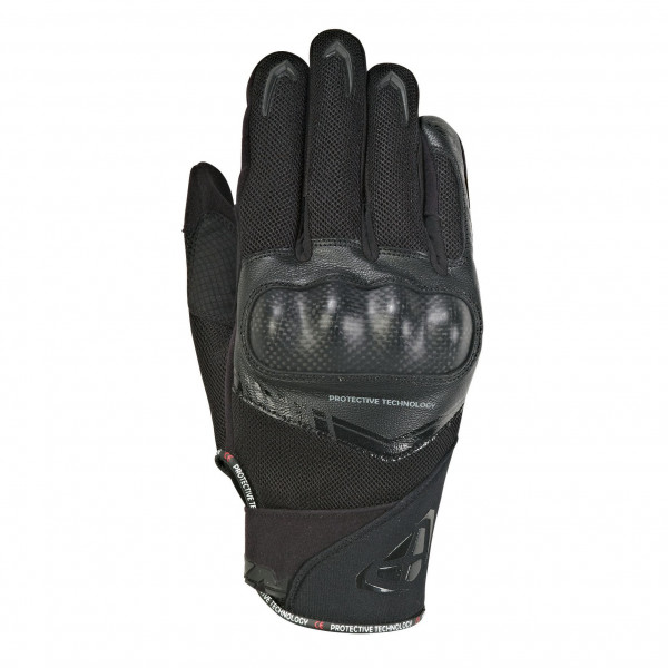 Ixon RS LOOP 2 leather summer gloves Black