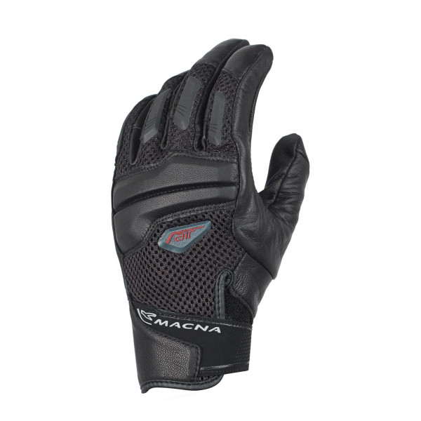 Macna leather summer gloves Catch black
