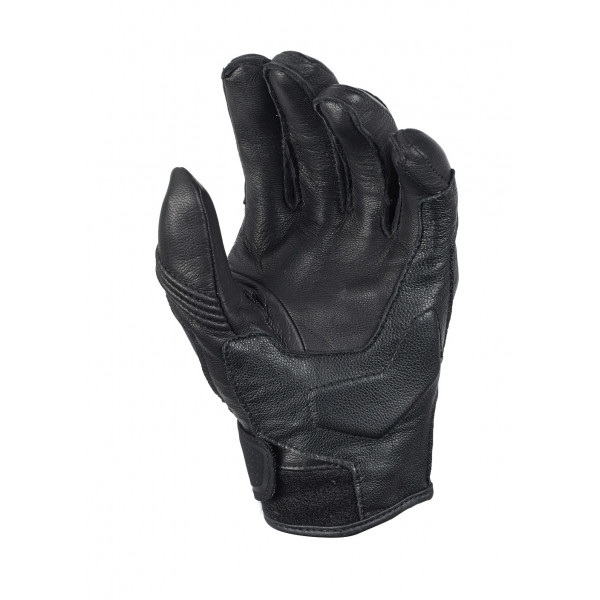 Macna leather summer gloves Rocky black