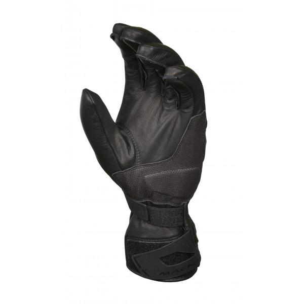 Macna leather summer gloves Tourist black