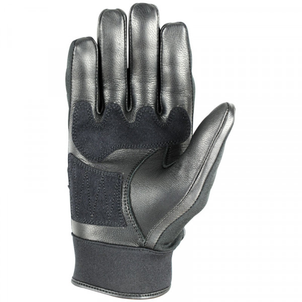 VQuattro COMMUTER summer leather motorcycle gloves black