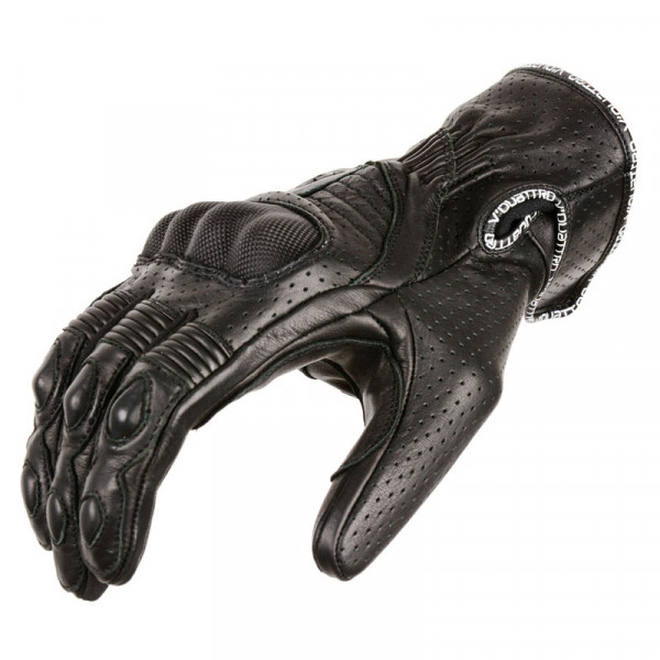 VQuattro EAGLE PRO summer leather motorcycle gloves black