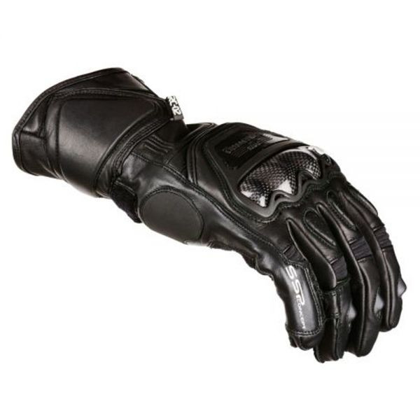 VQuattro RC-02 summer leather motorcycle gloves black