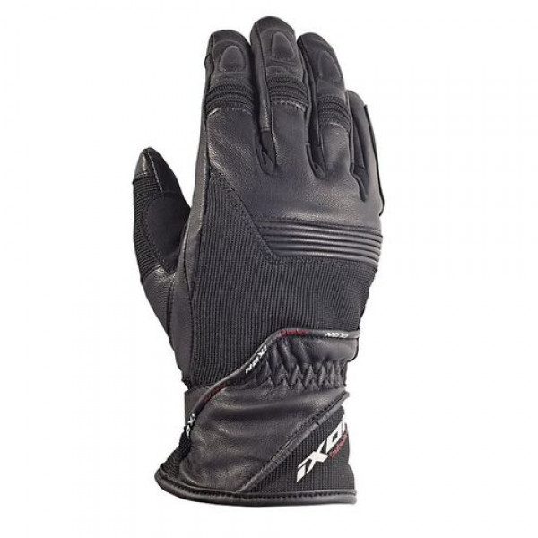 Ixon RS Global HP motorcycle Leather Gloves Black