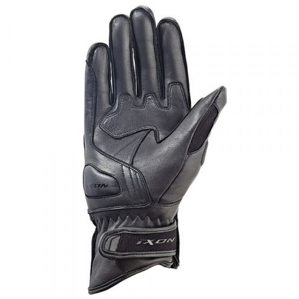 Ixon Rs Hunt HP motorcycle Leather Gloves Black