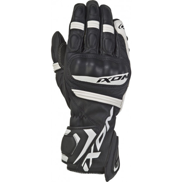 Ixon RS TEMPO leather summer gloves Black White