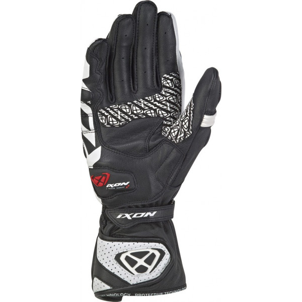 Ixon RS TILT leather gloves Black White