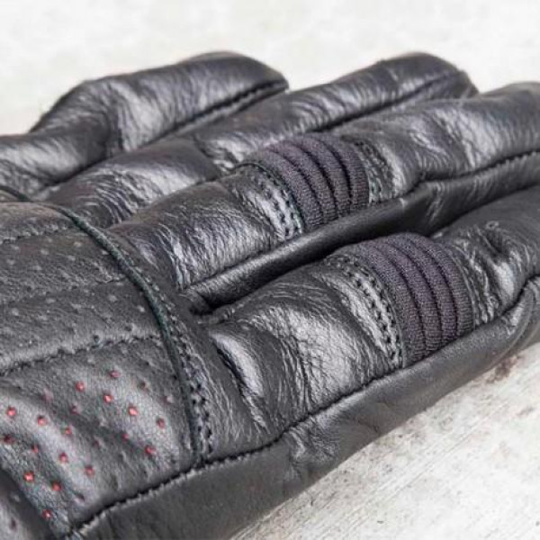 ROLAND SANDS DESIGN Barfly Motorcycle Gloves Black