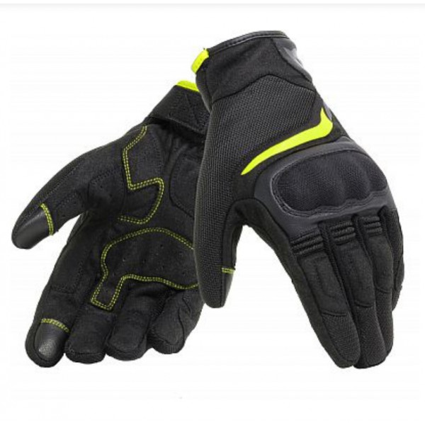 Dainese AIR MASTER touring gloves Black Fluo Yellow