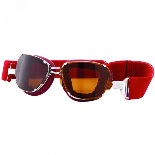 Occhiali moto Baruffaldi Inte 259 rosso imperiale