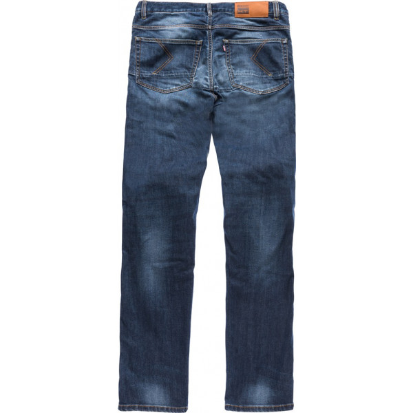 Blauer Bob Jeasn Blue Stone Washed