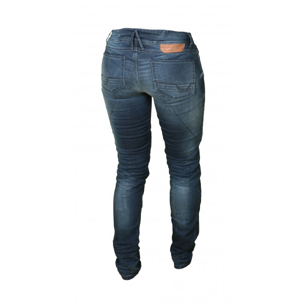 Macna woman jeans Jenny with Kevlar reinforcements blue