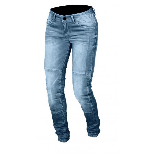 Macna woman jeans Jenny with Kevlar reinforcements light blue