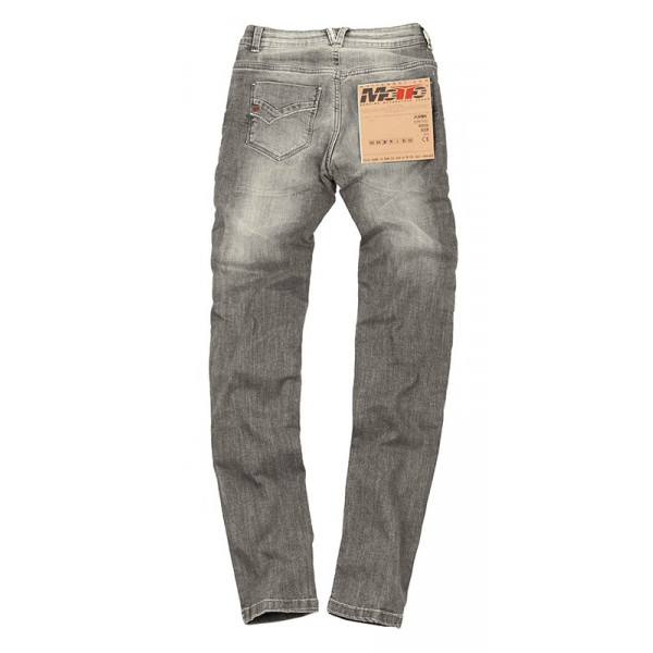 Motto Stella motorcycle Jeans Grey with Kevlar