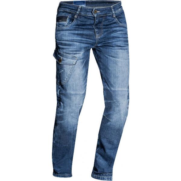Ixon DEFENDER motorcycle jeans stonewash