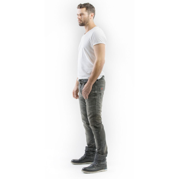 Motto Gallante motorcycle Jeans Grey with Kevlar