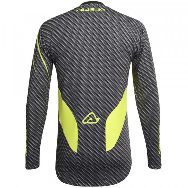Acerbis Titanium Flex cross jersey Grey Fluo Yellow