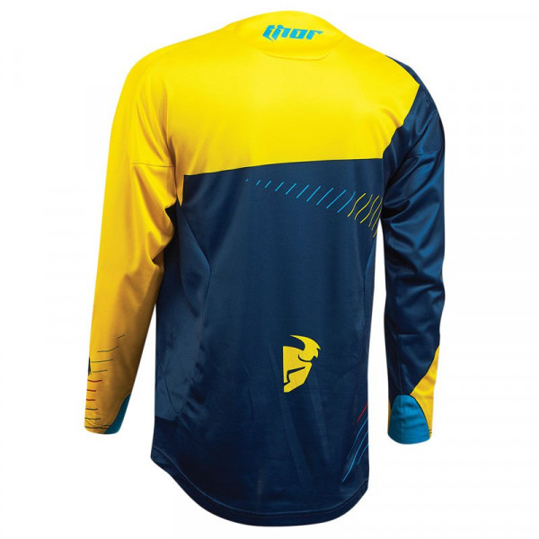 Thor cross jersey Core Hux navy yellow