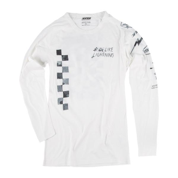 Dainese72 LIGHTENING72 LS jersey White