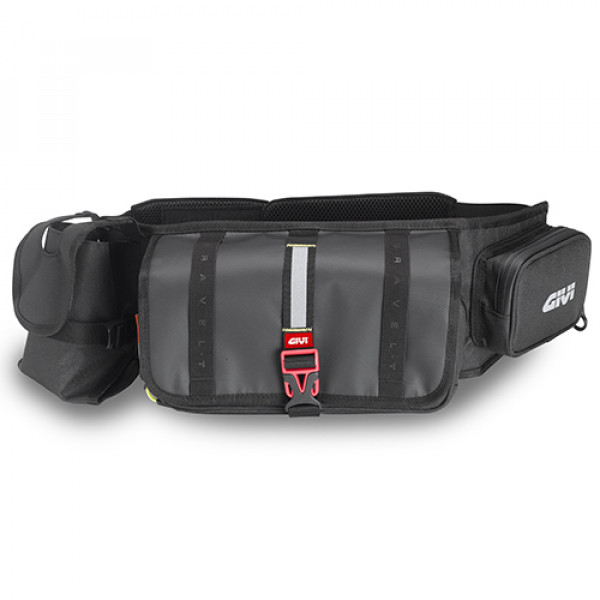 Givi Grt710 Gravel-T Range pouch holder tools Black