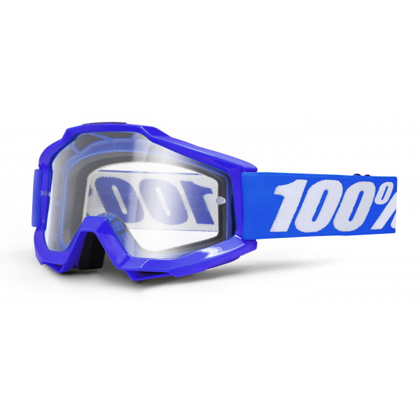 Occhiali cross 100% Accuri REFLEX BLUE lente chiara