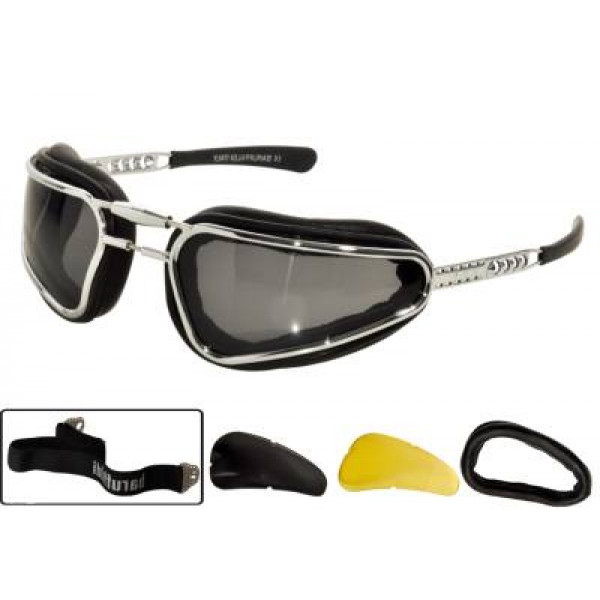 Black Easy Rider Baruffaldi glasses