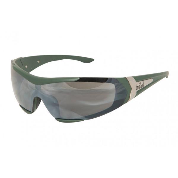 Motorcycle goggles Baruffaldi Myto green forest