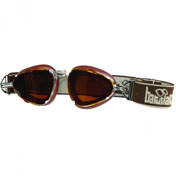 High Chocolate Baruffaldi Motorcycle Glasses