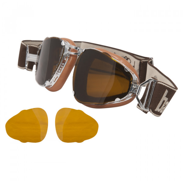 Motorcycle Glasses Baruffaldi Senior leather