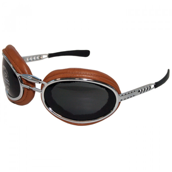 Motorcycle goggles Baruffaldi Sfericum Pad Leather
