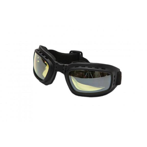 Motorcycle goggles Baruffaldi Tan V0