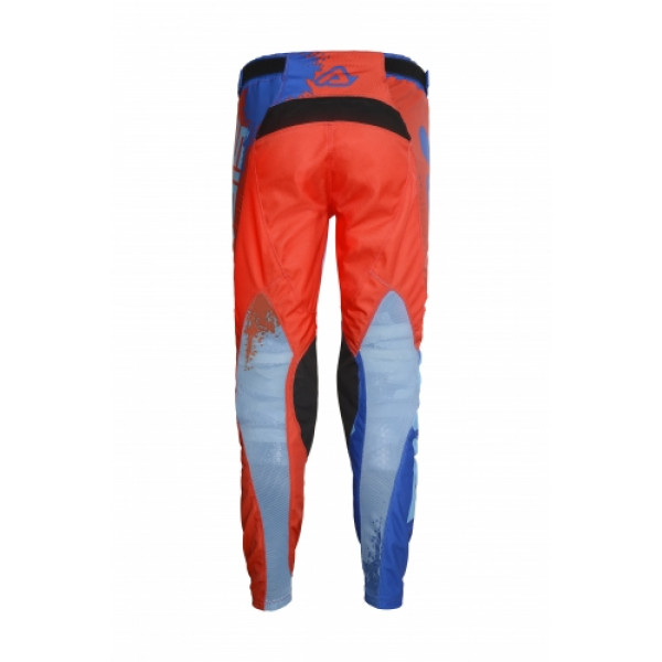 Acerbis Special Edition Seiya cross trousers Red Blue