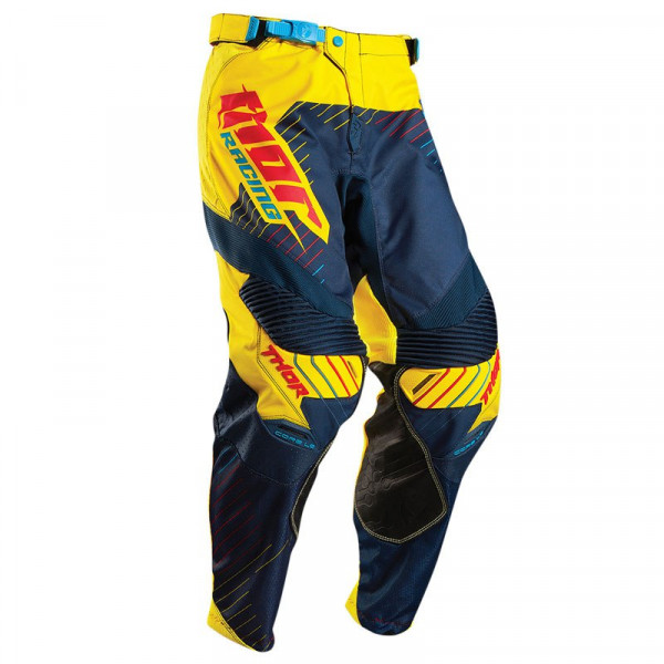 Thor cross trousers Core Hux navy yellow