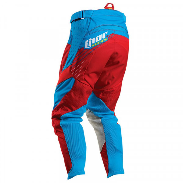 Thor cross trousers Core Hux red cyan