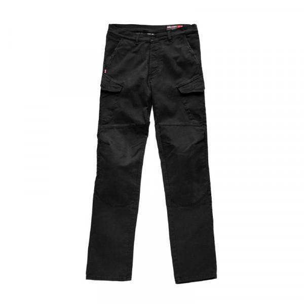 Blauer trousers Stuart Cargo Canvas black