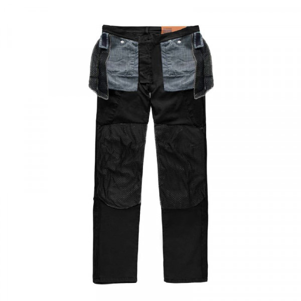 Blauer trousers Stuart Cargo Canvas black