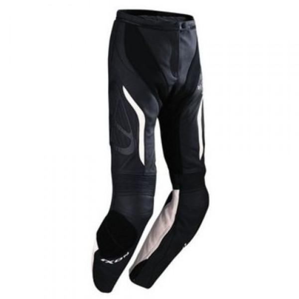 Ixon Prima VX motorcycle Leather Pants Woman Black White