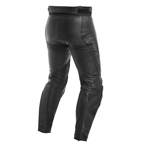 Dainese ASSEN LADY leather trousers perforated black anthracite