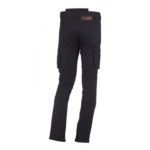 Macna summer trousers Transfer with Kevlar reinforcements black