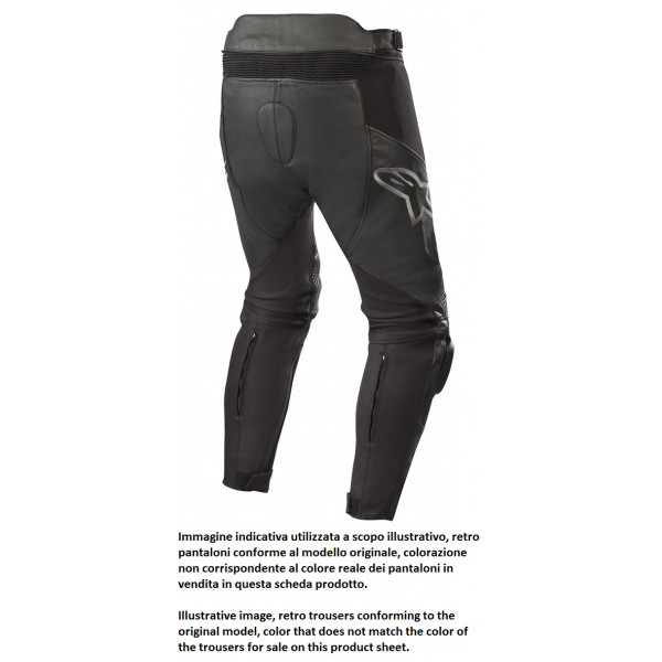 Alpinestars SP X PANTS leather pants black whte